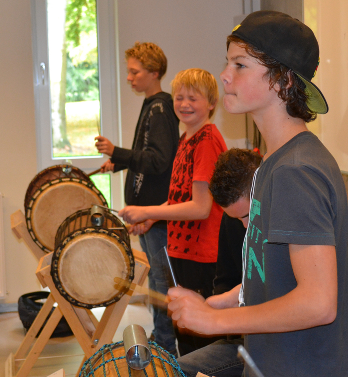 doundoun workshop op school