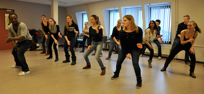 workshop bodydrum op school